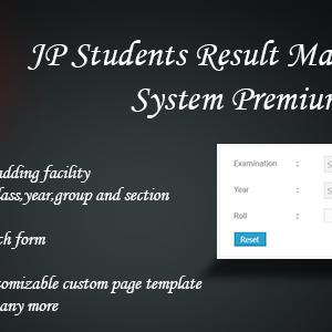 JP Student Result Management Sytem