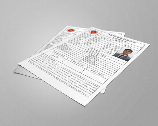 JP Students Exam Admit Card Generator Premium